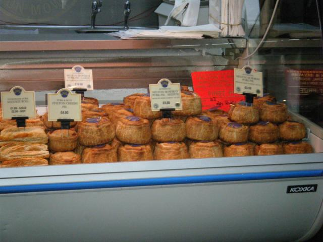 Pies - Borough Market London