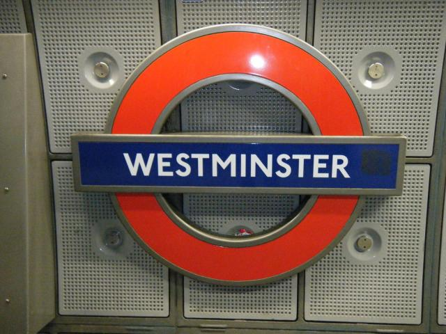Westminster Tube London