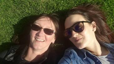 meg and ruth selfie