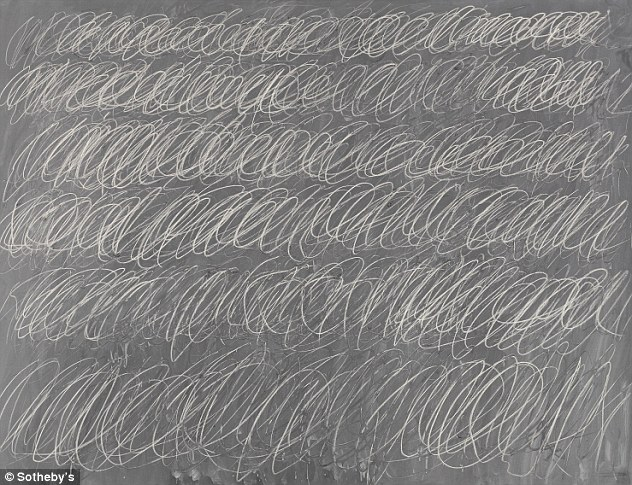 cy twombly sold for GBP47million
